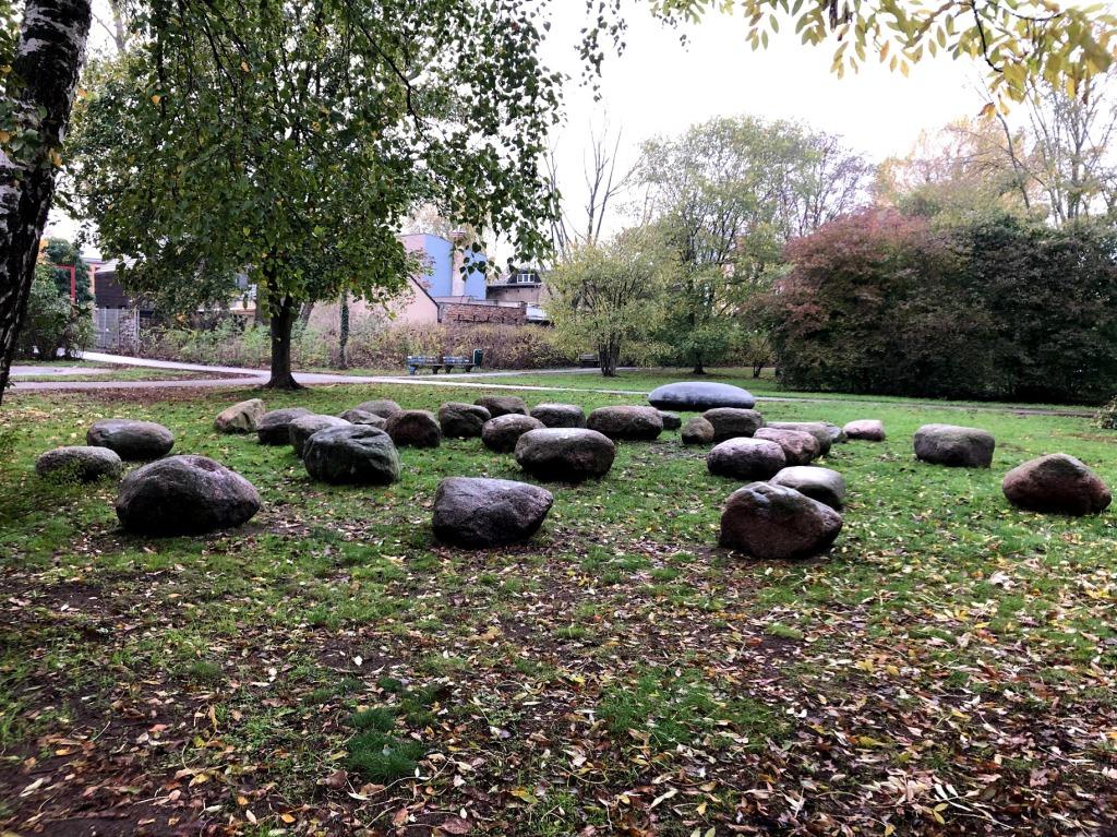 Steine in der Natur